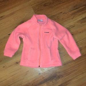 Toddler Columbia fleece jacket